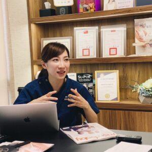 陳心瑜醫師媒體採訪