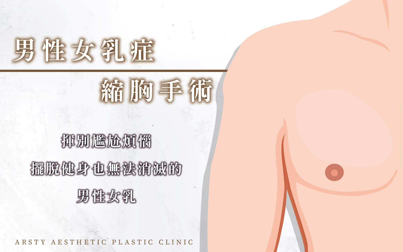 璞美男性女乳症縮胸手術Banner