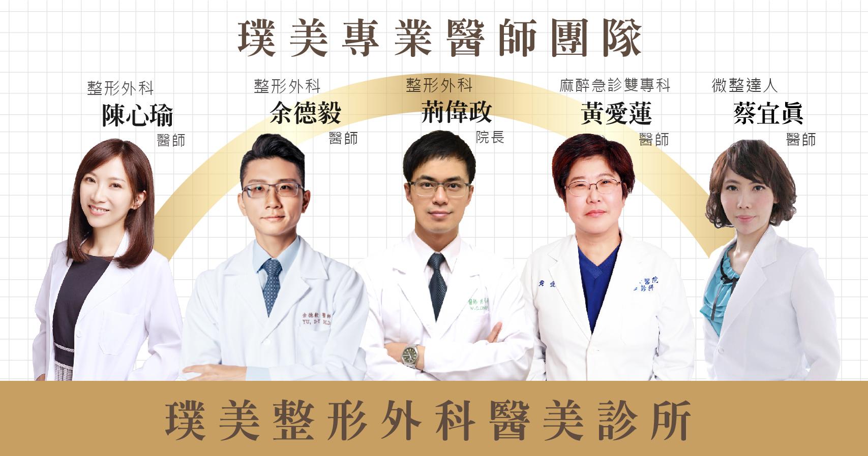 璞美醫師團隊