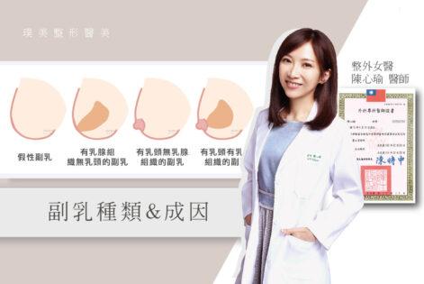 陳醫師觀點_15副乳種類和副乳成因